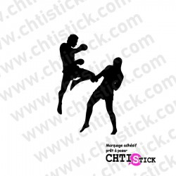 STICKER KICKBOXING