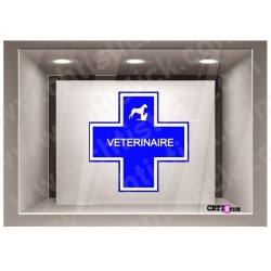 STICKER VETERINAIRE 40