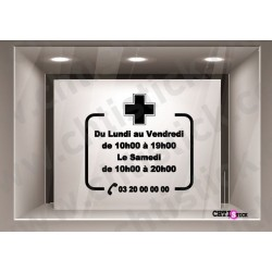STICKER HORAIRES VETERINAIRE
