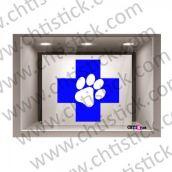 STICKER VETERINAIRE 50 N°4