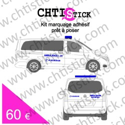 KIT RAISON SOCIALE AMBULANCE L