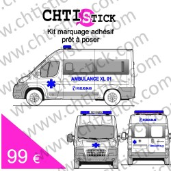 Kit marquage Ambulance 03
