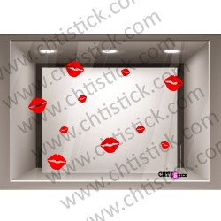 STICKER VITRINE SAINT VALENTIN 3