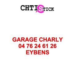 CLIENT GARAGE CHARLY - LETTRAGE