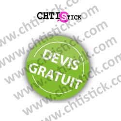 STICKERS DEVIS GRATUIT n°2