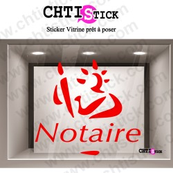 STICKER LOGO NOTAIRE