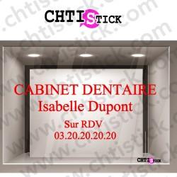 LETTRAGE CABINET DENTAIRE 01