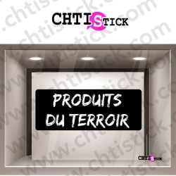 STICKERS PRODUITS TERROIR