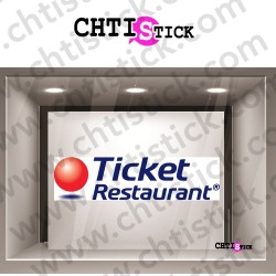 STICKER TICKET RESTAURANT