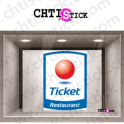 STICKER TICKET RESTAURANT 2