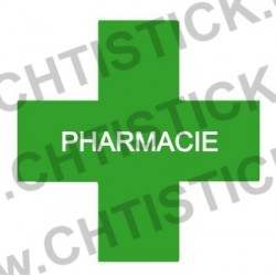 STICKER PHARMACIE 40