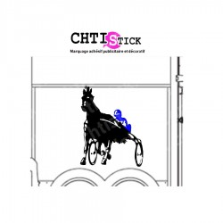sticker van chevaux