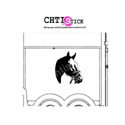STICKER CHEVAL POUR VAN 2