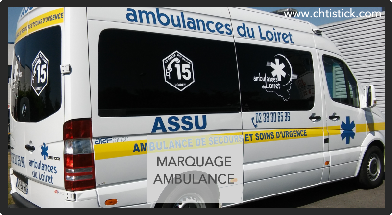 Flocage ambulance