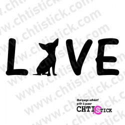 STICKER LOVE CHICHI