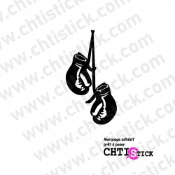 STICKER GANTS BOXE