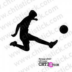 STICKER FOOT BALL