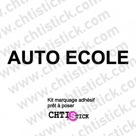 PARE SOLEIL AUTO-ECOLE