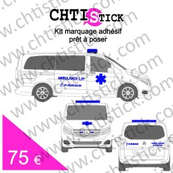 Kit marquage Ambulance 02