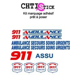 MARQUAGE SP CLIENT 911