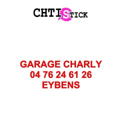 CLIENT GARAGE CHARLY - LETTRAGE