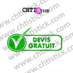 STICKERS DEVIS GRATUIT