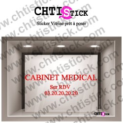 LETTRAGE ADHESIF CABINET MEDICAL 02