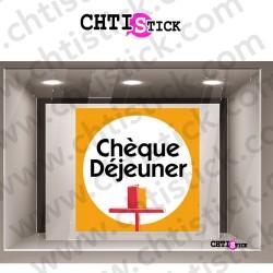 STICKER CHÈQUE DÉJEUNER