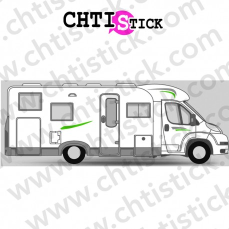 STICKER DÉCORATION CAMPING CAR 05