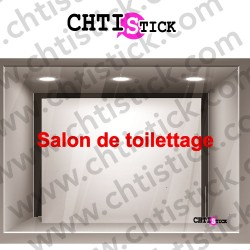 LETTRAGE VITRINE TOILETTAGE