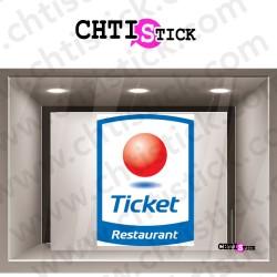 STICKER TICKET RESTAURANT 2