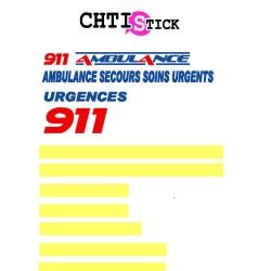 MARQUAGE SP CLIENT 911 C2