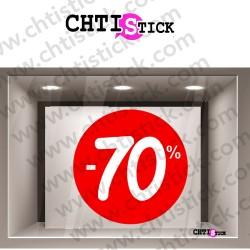 DECORATION ELECTROSTATIQUE SOLDES 70%
