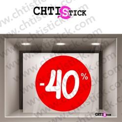 DECORATION ELECTROSTATIQUE SOLDES 40%