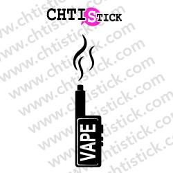 STICKERS E-CIGARETTE