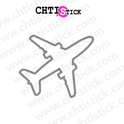 STICKER AVION 2