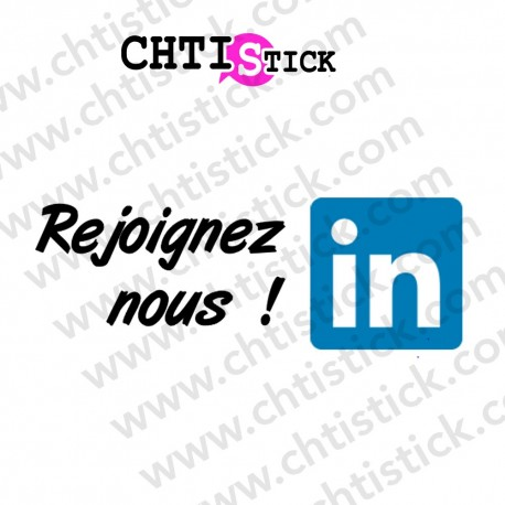 STICKER LINKEDIN REJOINDRE