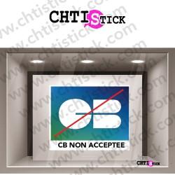 STICKERS CB NON ACCEPTEE