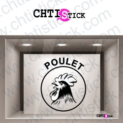 STICKERS POULET