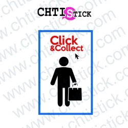 AUTOCOLLANT CLICK & COLLECT