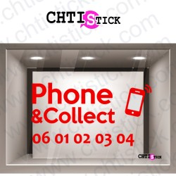AUTOCOLLANT PHONE & COLLECT