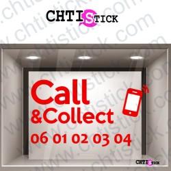 AUTOCOLLANT PHONE & COLLECT