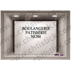 STICKER LETTRAGE BOULANGERIE PATISSERIE