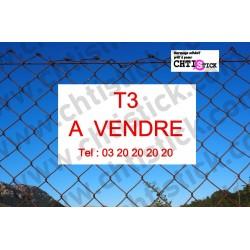 ADHESIF pour PANNEAU T3 A VENDRE
