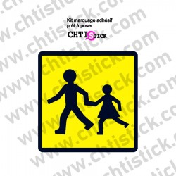 STICKER TRANSPORT ENFANTS