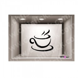 STICKER VITRINE TASSE