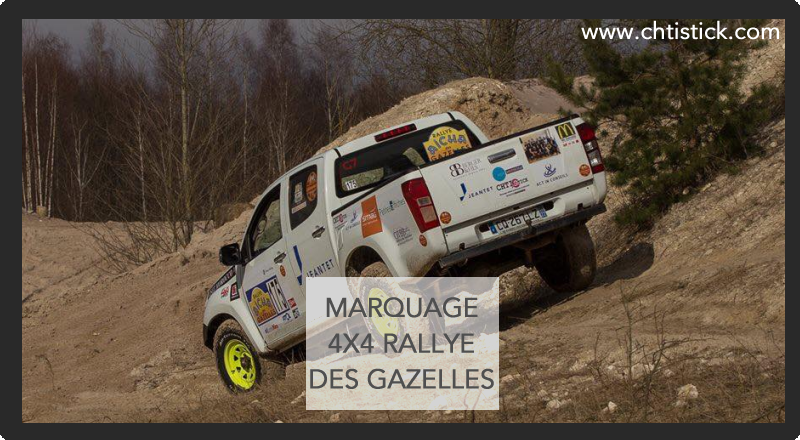 MARQUAGE 4 X 4 PICK UP