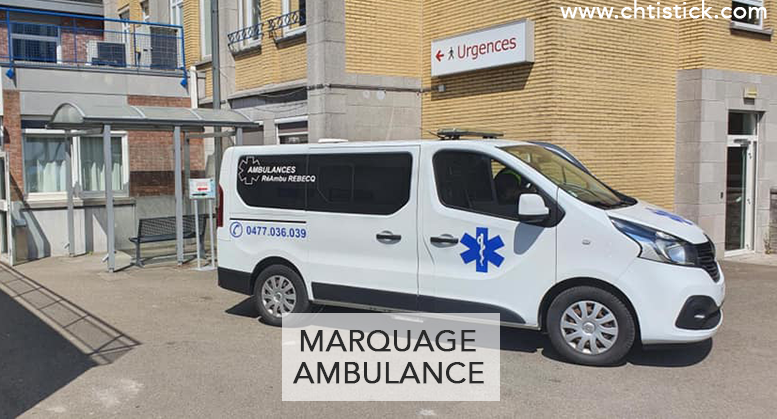 Flocage Ambulance